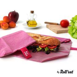 Wiederverwendbare Sandwichverpackung Boc'n'Roll Eco | Violett