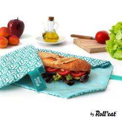 Wiederverwendbare Boc'n'Roll-Sandwichfolie | Grün