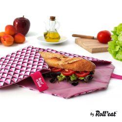 Wiederverwendbare Boc'n'Roll-Fliesen in Sandwichfolie | Rosa