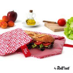 Wiederverwendbare Boc'n'Roll-Sandwichfolie | Rot