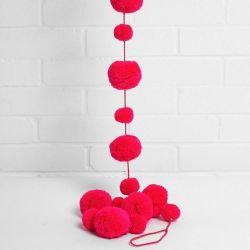 Pom Pom Garland | Pink