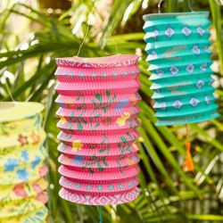 Paper Lanterns Boho - Set of 3