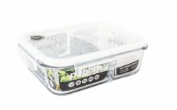 Lebensmittel-Lagerbehälter | Mit zwei Fächern