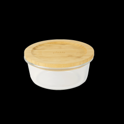 Storage Container with Bamboo Lid Square | 520 ml