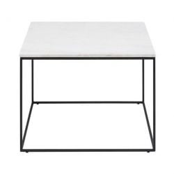 Balto Coffee Table 60 x 60 | White Marble