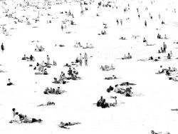 "Art Photograph ""Bondi beach"""