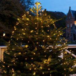 Drop Down Christmas Lights