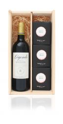 Luxury Wine Box Best of Merlot + Free Gift