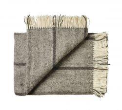 Plaid Bornholm I 130 x 200 cm | Dark Grey