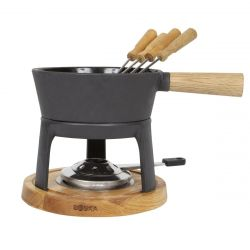Fondue Set Cheese Nero Pro | Black