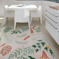 Washable Rug | Botanic Plants
