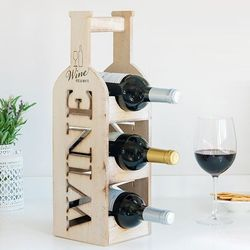 Wine Rack Nobo | Wood