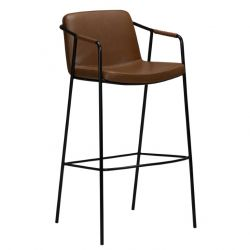 Tabouret de Bar Boto Vintage | Marron Clair