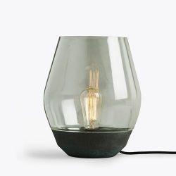 Schüsseltischlampe | Grün