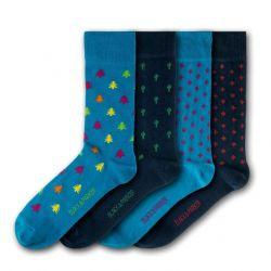 Unisex-Socken Tremeer | 4 Paare