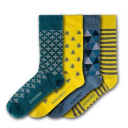 Unisex-Socken Tresco Abbey | 4 Paare