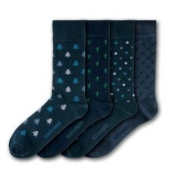 Unisex-Socken Isles of Scilly | 4 Paare
