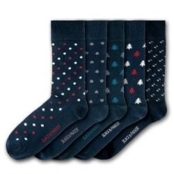 Unisex-Socken Dunge Valley Hidden Garden | 5 Paare