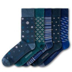 Tapeley Park Gardens Unisex-Socken | 5 Paare