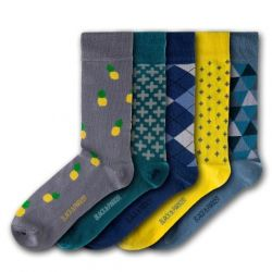 Winsford Walled Garden Unisex Socks | 5 Pairs