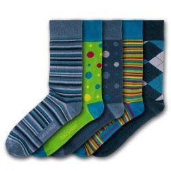 Unisex-Socken Compton Acres | 5 Paare