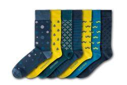 Unisex-Socken Victoria Gardens | 7 Paare