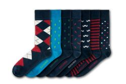 Weymouth Peace Garden Unisex-Socken | 7 Paare