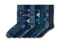 Burnby Hall Gardens Unisex-Socken | 7 Paare
