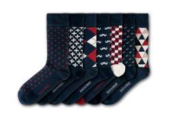 Unisex-Socken-Freuden | 7 Paare