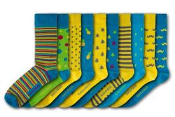 Chiswick House Unisex-Socken | 10 Paare