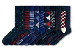 Unisex-Socken Hampton Court | 10 Paare