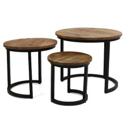 Tables Chevet Buxton | Set de 3