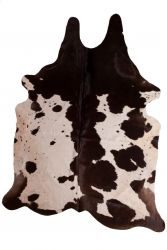 Cow Rug One Colour | Black & White