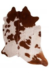 Cow Rug | Brown & White