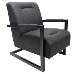 Chaise Henefer | Noir