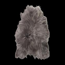 Isländischer Schaf-Teppich | Stahl
