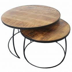 Tables Chevet Lucie | Set de 2