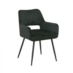 Chair Mona Velvet | Anthracite