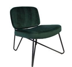 Stuhl Nibley Velvet | Grün