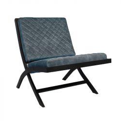 Stuhl Randolph Velvet | Blau