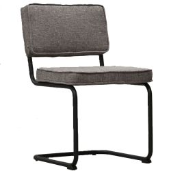 Stuhl Rippe Industrial | Grau