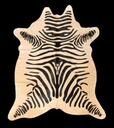 Teppich-Kuhfell-Safari | Zebra
