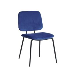 Chaise School | Bleu