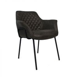 Chair Val Verda | Anthracite