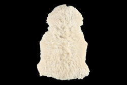 Rug Wild Sheep Long Hair | White