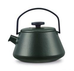 Gusseisen Teekanne T-time   Dunkelgrün