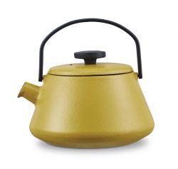 Gusseisen Teekanne T-time   Gelb