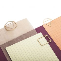 Büroklammern | Brass