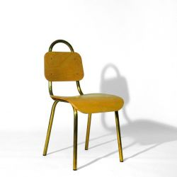 Dining Chair | Brass