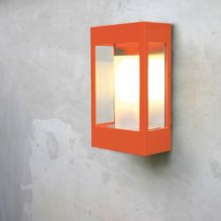 Brick Outdoor Wandlamp Oranje